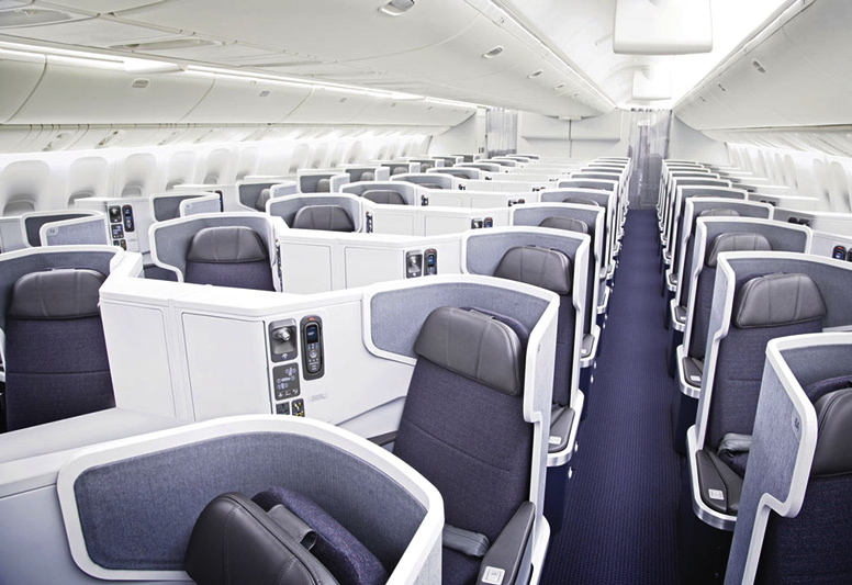 Best Business Class Seats for Couples - AA New Business Class on the 777-300ER