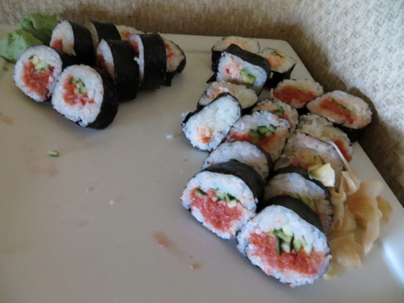 Fairmont Orchid Gold Floor Lounge Review - Sushi