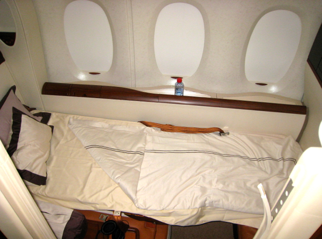 How Not to Get Sick on a Plane: Fly First Class