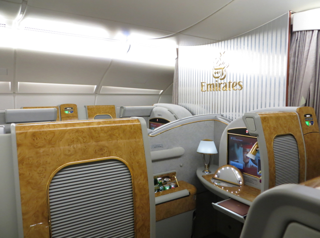 Emirates A380 First Class Award Space With Alaska Airlines