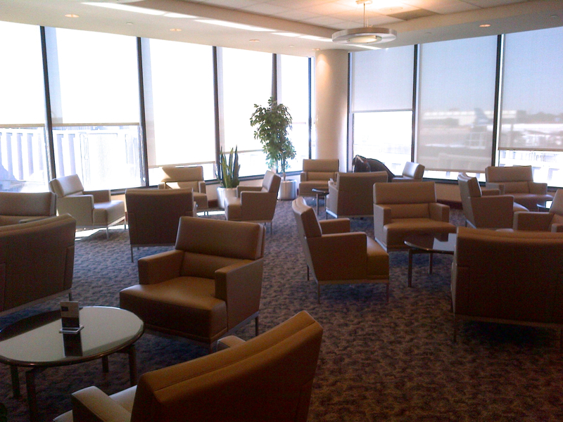 United Club Lounge Newark Terminal A Review