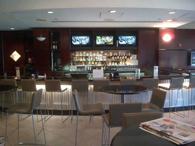 United Club Newark Airport Terminal A Lounge Review