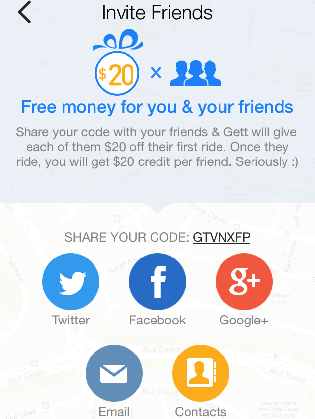 GetTaxi NYC Review - $20 Referral Credit