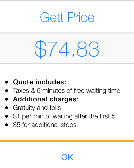 GetTaxi NYC Review: Get a Price Quote Before Ordering a Ride