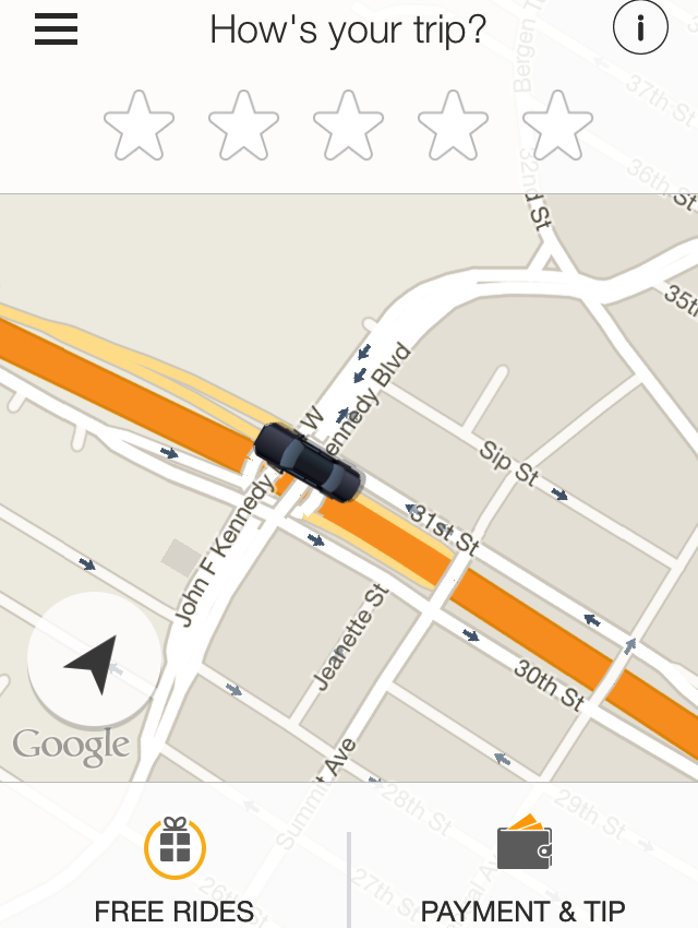 GetTaxi NYC Review: Track Your Car's Progress