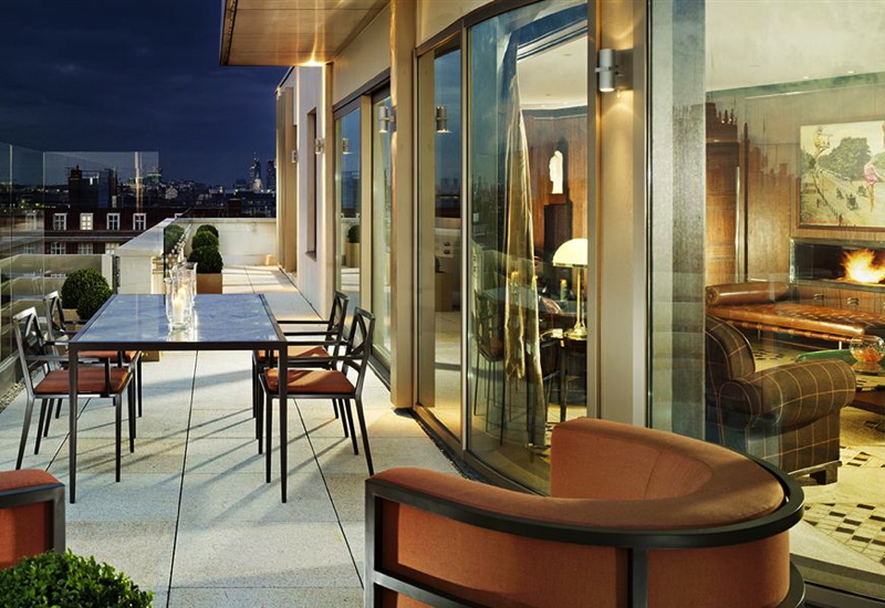 Dorchester Diamond Club Suite Deal: Penthouse Suite Terrace, 45 Park Lane, London