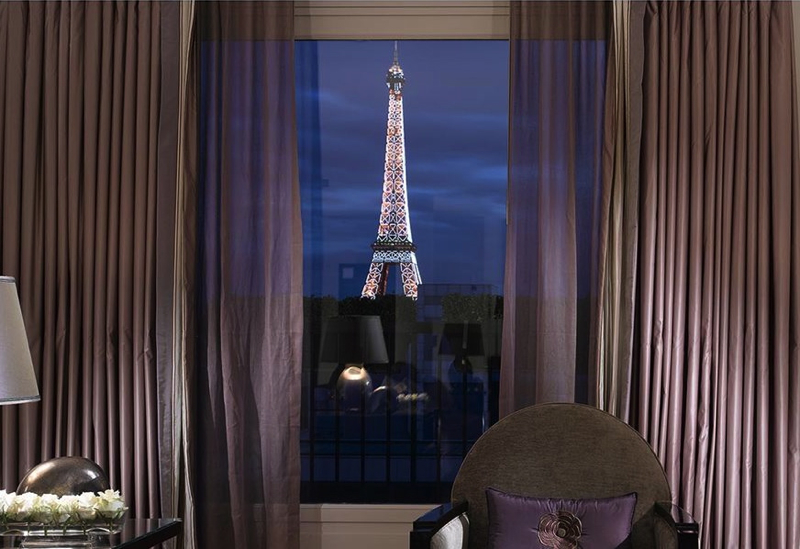 Dorchester Diamond Club Suite Deal: View from Eiffel Suite, Hotel Plaza Athenee, Paris