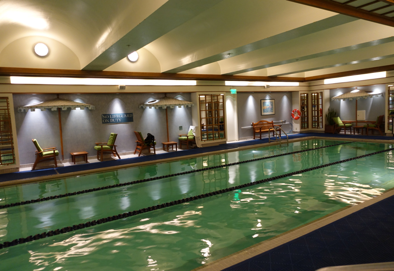 Boston Harbor Hotel Review - Saltwater Swimming Pool
