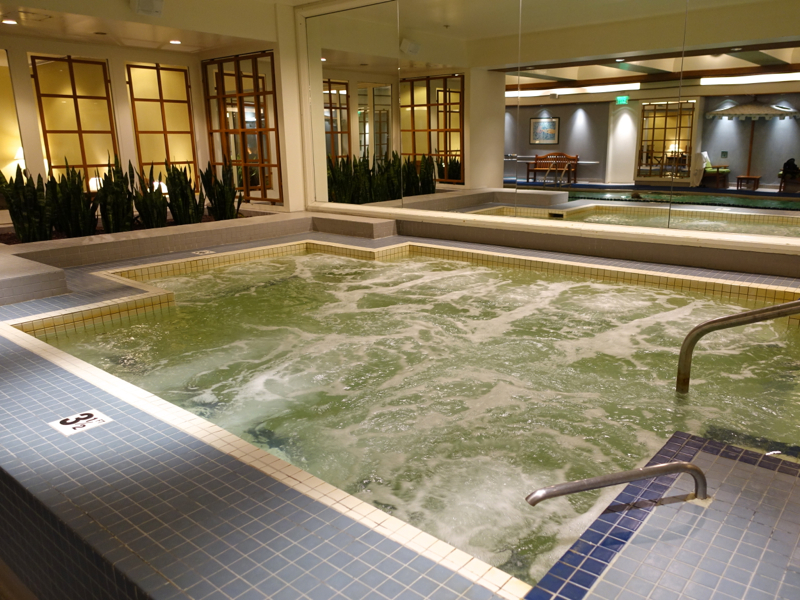 Boston Harbor Hotel Review - Jacuzzi