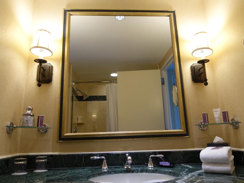 Boston Harbor Hotel Review - Superior Bathroom-Single Vanity Sink