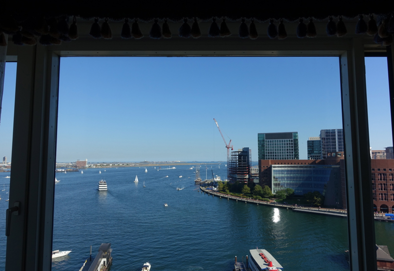 Boston Harbor Hotel - View from Superior Harbor View Room