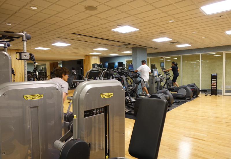 Boston Harbor Hotel Review - Fitness Center