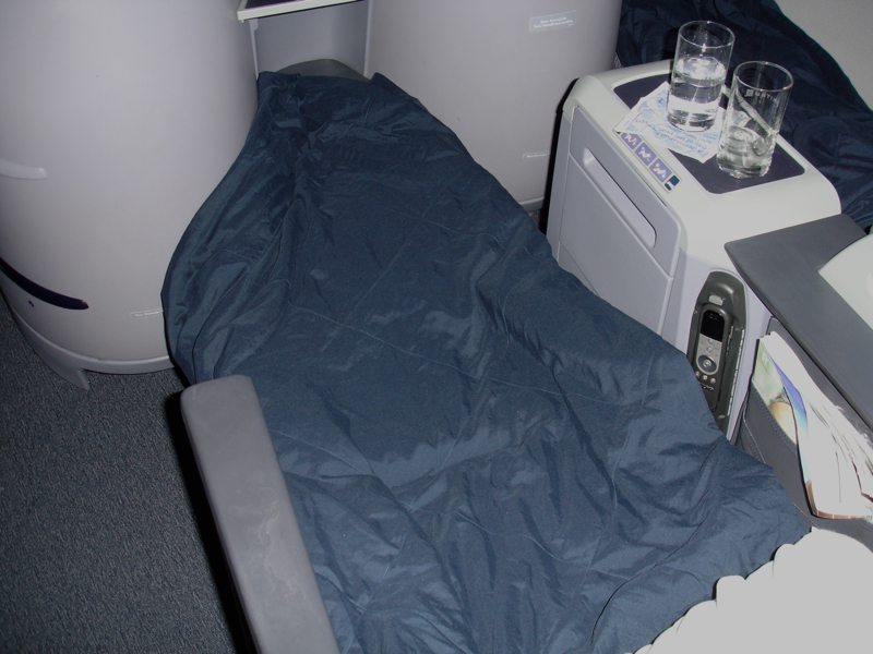 United First Class Review Hawaii to NYC