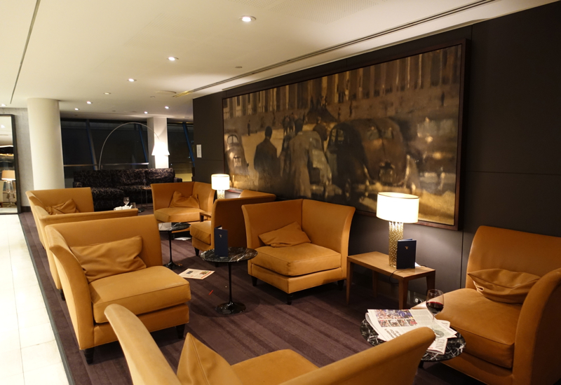 British Airways First Class Lounge JFK Review Seating