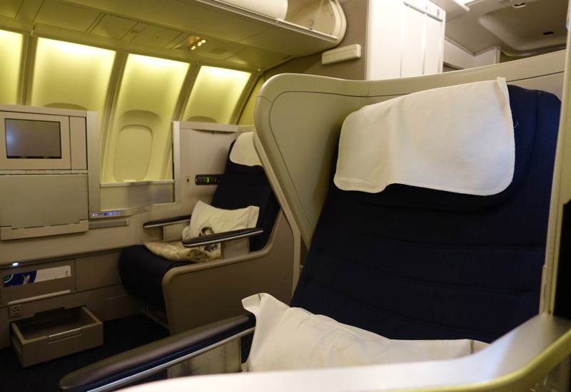 Review: British Airways Business Class on the 747 Upper Deck