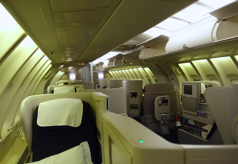 British Airways Business Class Review: 747 Upper Deck
