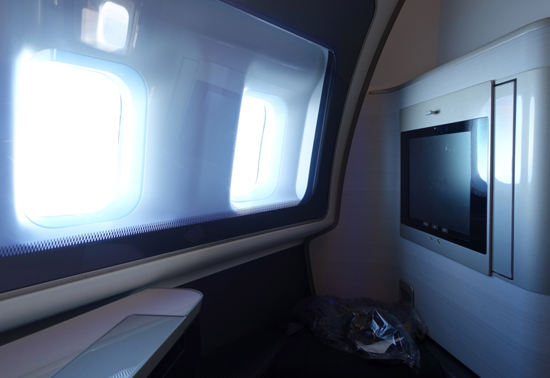 Seat 1A, British Airways New First Class 747-400