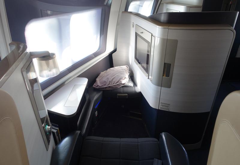Best Seats-British Airways New First Class 747-400