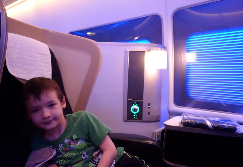 Best Seats on British Airways New First Class 747-400