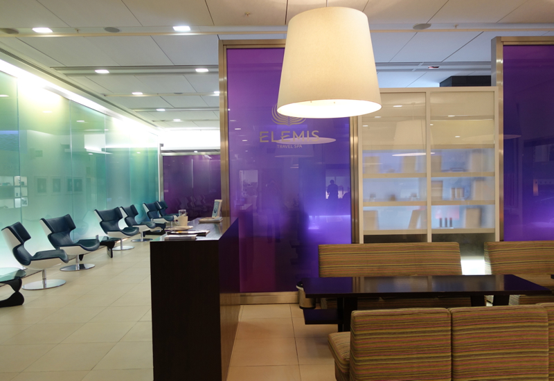 British Airways Arrivals Lounge-Elemis Spa