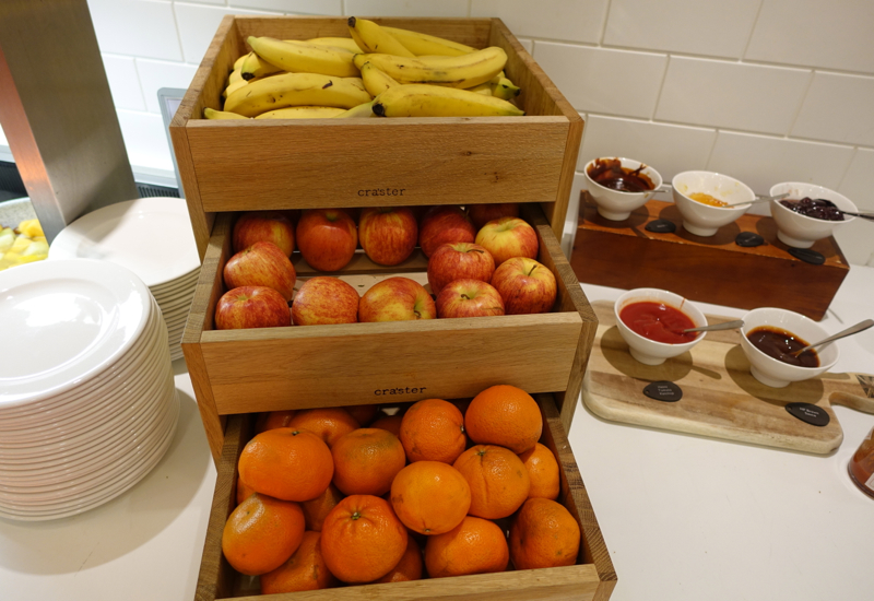 British Airways Arrivals Lounge Review - Fresh Whole Fruit