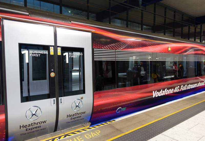 Heathrow Express Business First Car