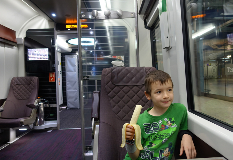Review: Heathrow Express Business First