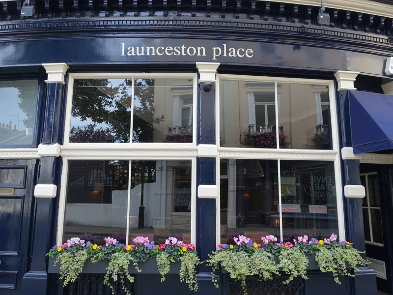 Launceston Place London Restaurant Review