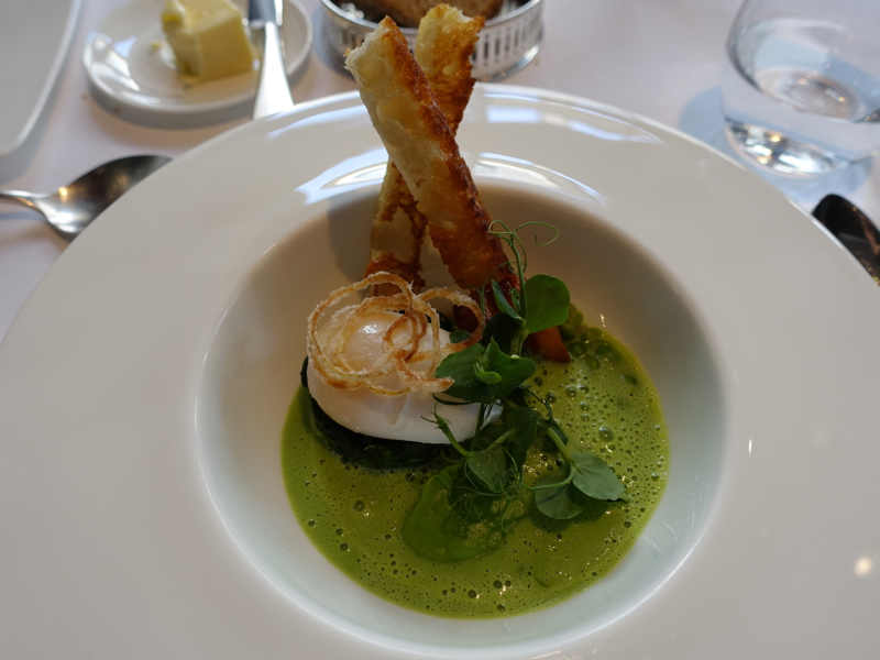 Slow Cooked Duck Egg, Launceston Place, London