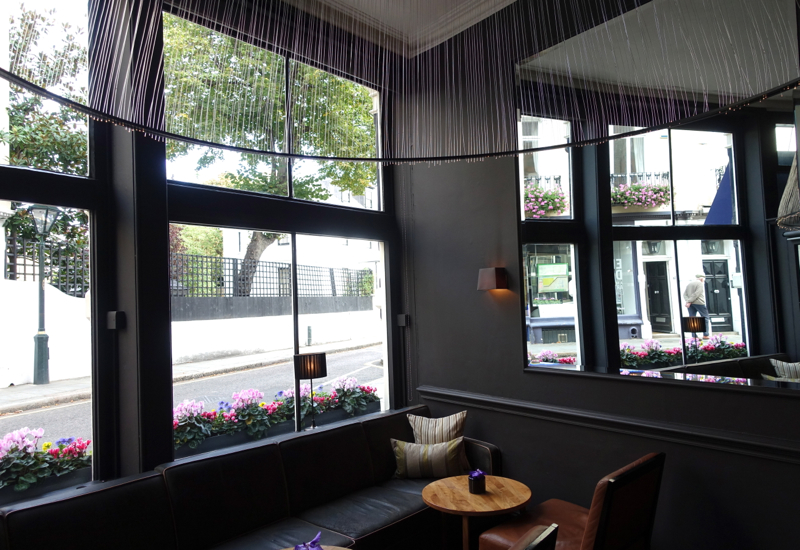 Launceston Place London Restaurant Review - Lounge Seating