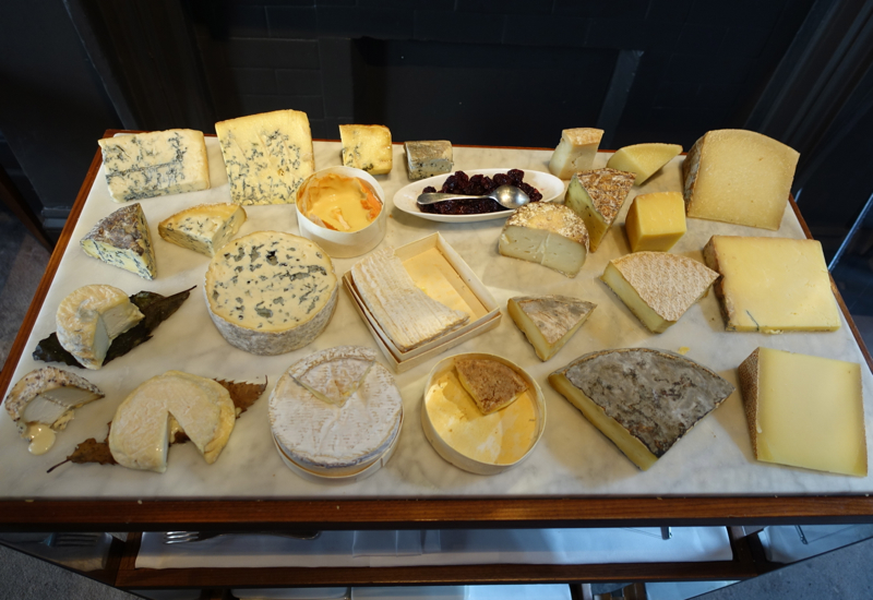 Cheese Board, Launceston Place, London