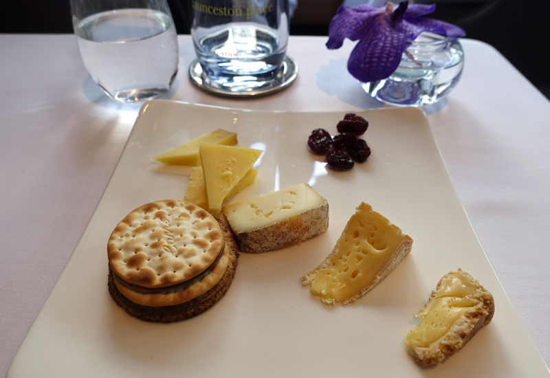 Cheese Plate, Launceston Place Restaurant, London
