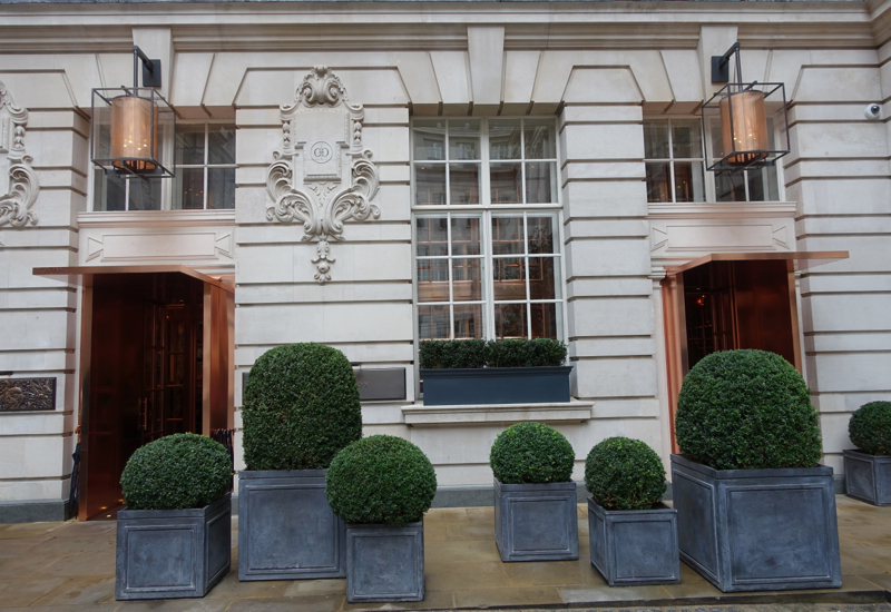 Rosewood London Review - Entrance to the Hotel Lobby, Off a Peaceful Interior Courtyard