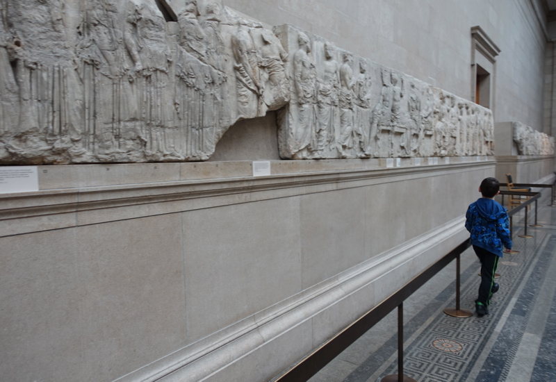 British Museum: Enjoying the Elgin Marbles of the Parthenon