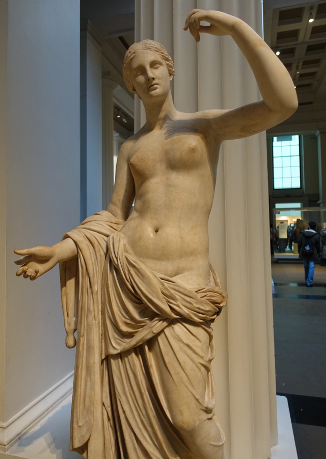 Aphrodite (Venus) Sculpture, British Museum