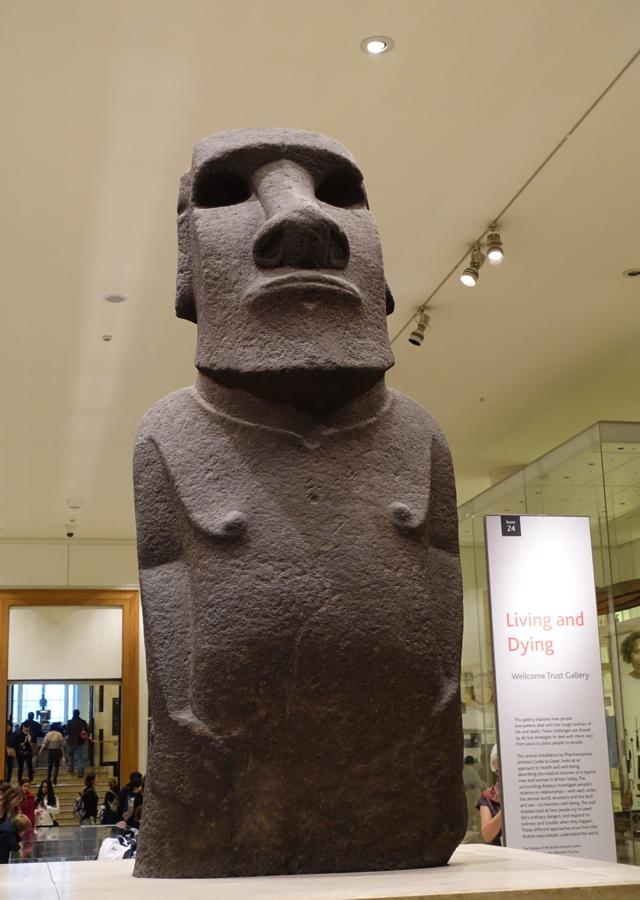 Easter Island Moai, British Museum