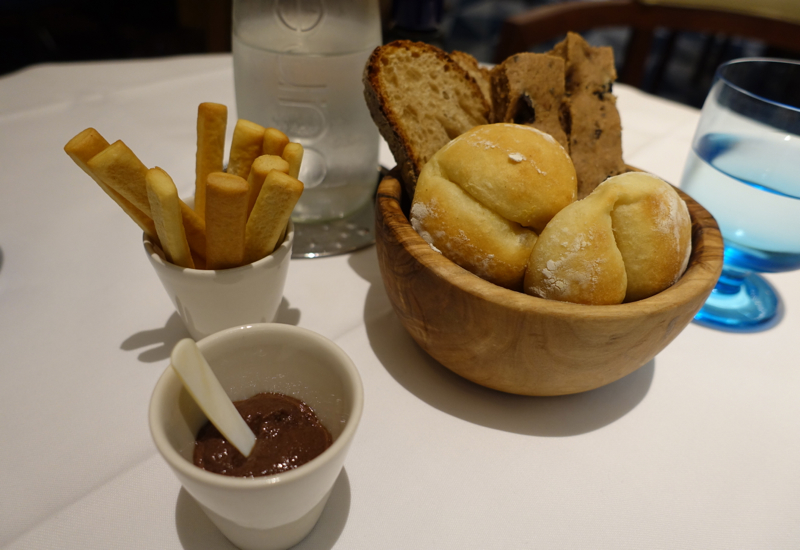 Rivea London Review - Bread and Tapenade