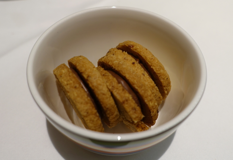 Rivea London Review - Complimentary Cookies to Finish