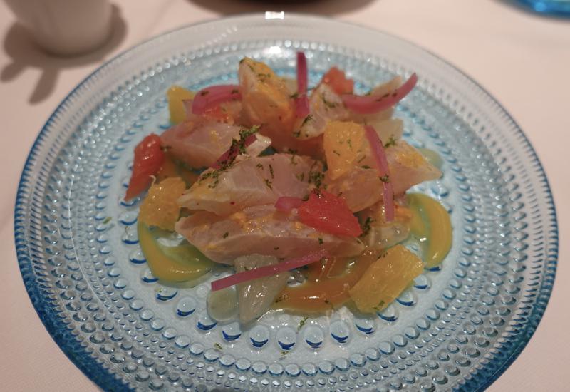Rivea London Review: Sea Bream with Citrus