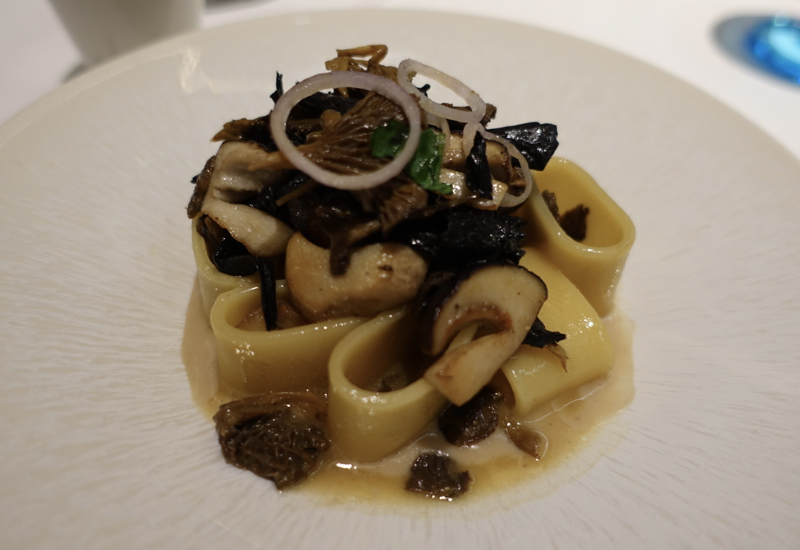 Rivea London Review: Paccheri with Chestnuts and Wild Mushrooms