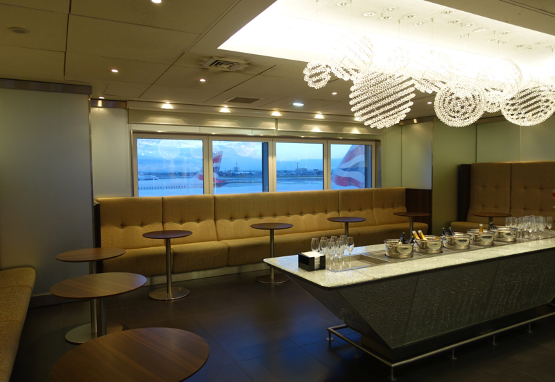 Champagne Bar, British Airways First Class Lounge LHR T3