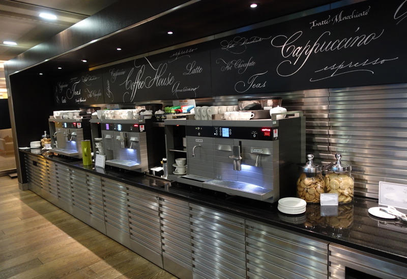 Review: British Airways First Class Lounge London Heathrow Terminal 3 - Espresso Bar