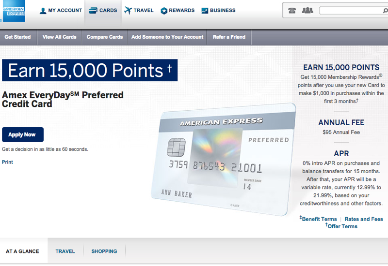 AMEX EveryDay Preferred Card Worth It or Better Rewards Credit Cards?