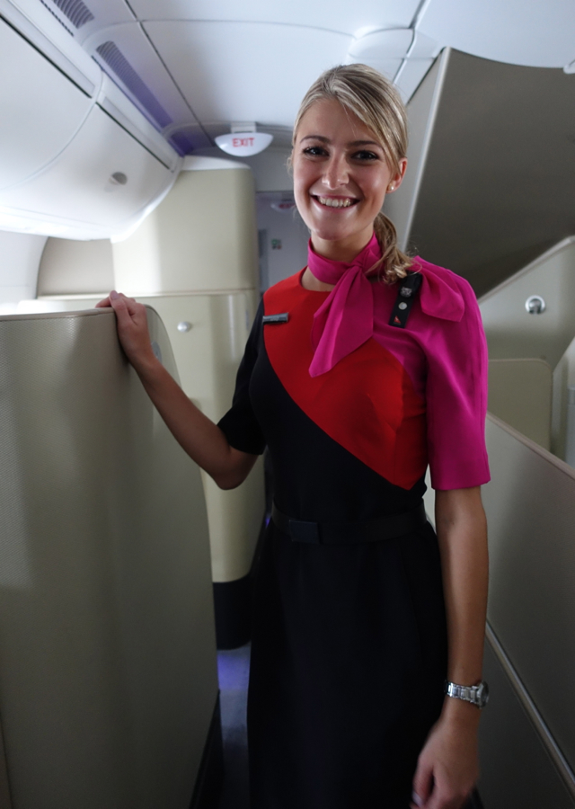 Qantas First Class A380 Review - Wonderful Service from Ashley