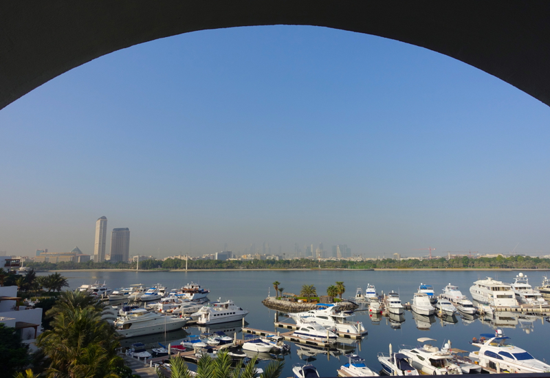 Park Hyatt Dubai Review - View of Dubai Creek Marina