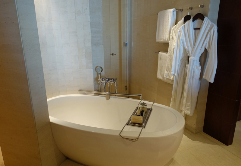 Park Hyatt Dubai Review - Bathtub Soaking Tub