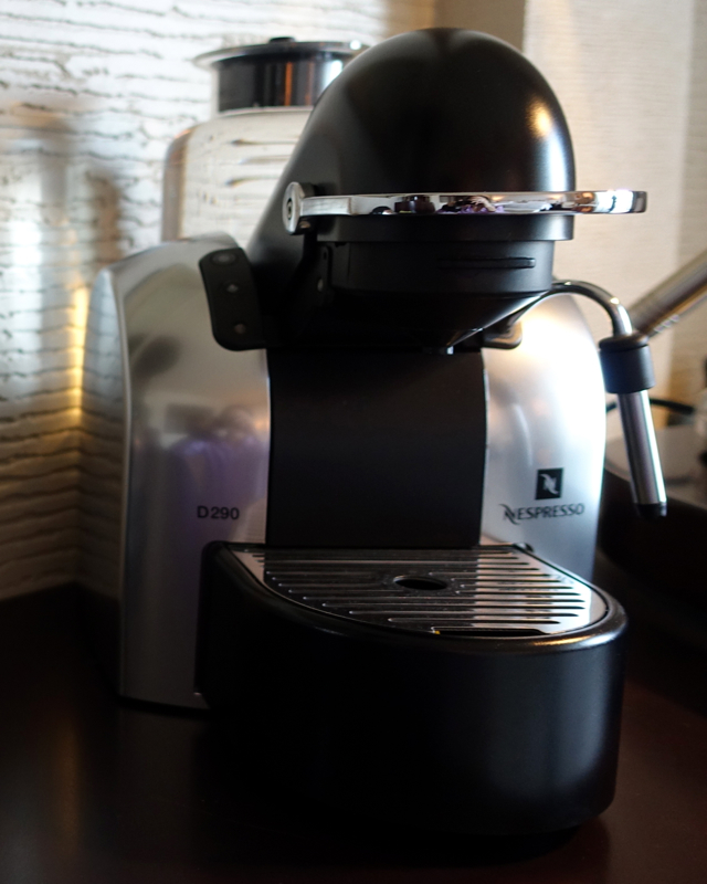 Park Hyatt Dubai Review - Nespresso Machine