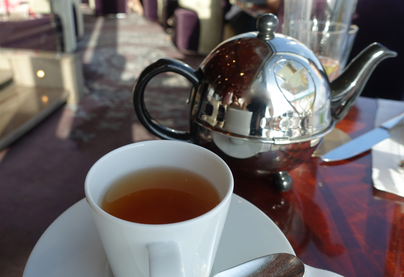 Earl Grey Chocolate Tea, Atmosphere Lounge Dubai