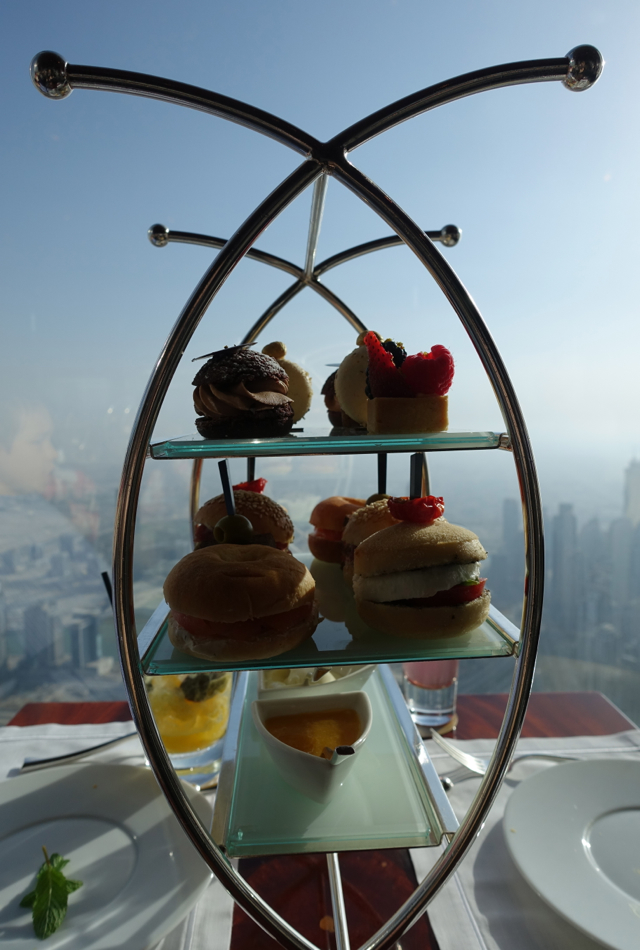 Afternoon Tea Review, Atmosphere Lounge, Burj Khalifa Dubai
