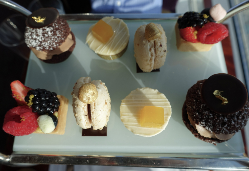 Afternoon Tea Pastries, Atmosphere Lounge Dubai